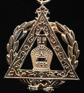 York Rite Royal Arch Grand High Priest Officers Collar Jewel
