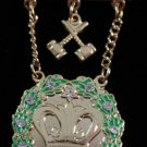 Amaranth11 Stones & Gavels Jewel Freemason Masonic
