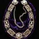 York RIte Grand Lodge Officers Collar Freemason Masonic