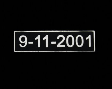 Uniform Lapel Pin9-11-2001 September 11th 9-11