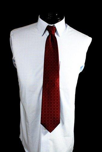 RCC Red Cross Of Constantine Red On Black Masonic Tie