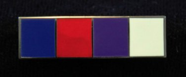 York Rite Knights Templar Honor Uniform Bar Lapel Pin