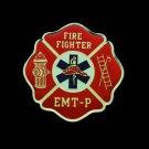EMT-P Fire Department Lapel Pin