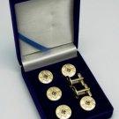 Blue Lodge Square & Compasses Masonic Freemason Stud Suit & Tux Set