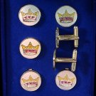 York Rite KYCH Masonic Tux Suit Button Cover Set