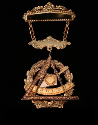 York Rite Knights Templar Past Grand Illustrious Master Masonic Medium Jewel