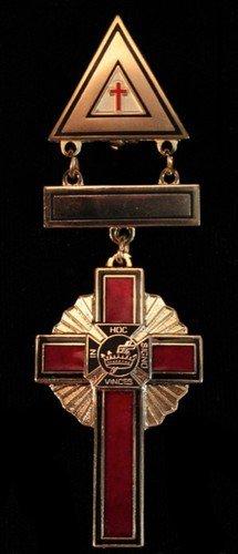 York Rite Past Commanders Masonic Medium Jewel