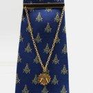 Blue Lodge Freemason Masonic Square & Compasses Masonic Tie Clip