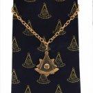 F&AM Past Master Freemason Masonic Masonic Tie Chain