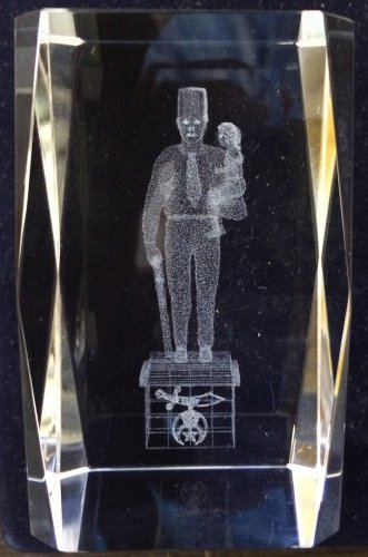 Shriners Editorial Without Words Silent Messenger Masonic Crystal