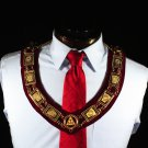 Royal Arch York Rite Knights Templar Velour DELUXE Collar