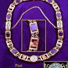 Knights Templar Past Grand CommanderYork Rite Collar