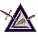 York Rite Cryptic Council Masonic Car Bumper Sticker