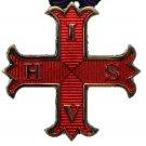 York Rite Red Cross Of Constantine Masonic Jewel & Neck Chord