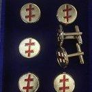 Scottish Rite 33rd Degree Masonic Stud Tux Set
