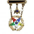 OES Order Eastern Star Past Patron Masonic Jewel
