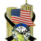 Elks 9-11 TwinTowers American Flag Lapel Pin Old Emblem