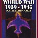 Second War World War 2 Poster Poker Deck Game