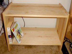 ikea wooden side table