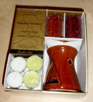 Frangrance Blenders candles and pot