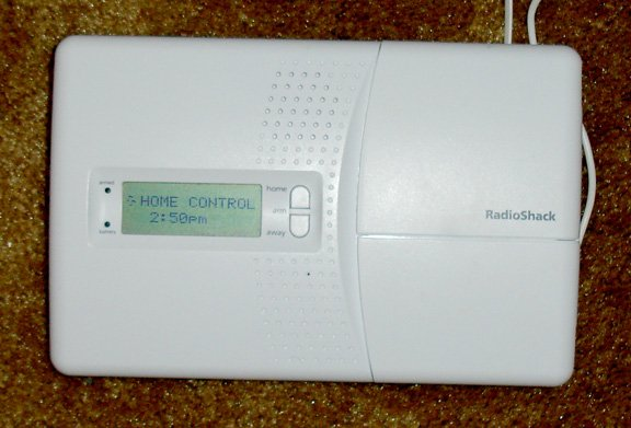 radioshack home security system