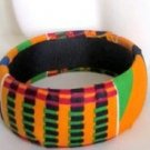 African Royalty Bangle (Kente)