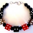 Men's Vegas Dice Bracelet