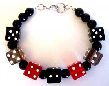 Men's Vegas Dice Bracelet