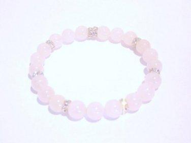 *SALE* Rock Candy Bracelet- Rose Quartz