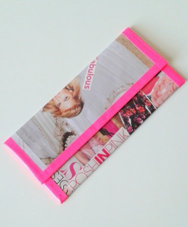 Posh in Pink Clutch Wallet