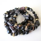 *SALE* Candy Bead Mix Bracelet-Black