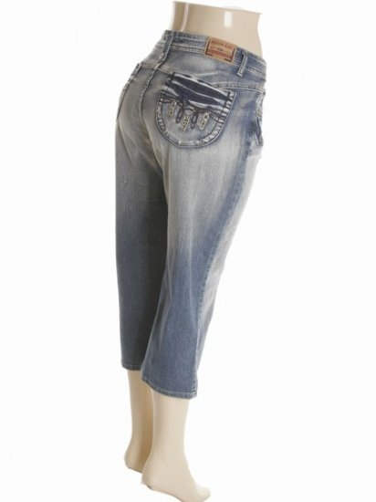 Wholesale Plus Size Jeans Capri