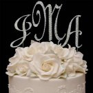 Swarovski Covered Cake Jewelry Letters | Monogram Set