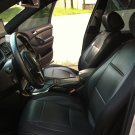 MIX L. CARBON FIBER & SYNTHETIC TWO FRONT BLACK CAR SEAT COVERS (Fits BMW 3 E36 CONVERTIBLE)