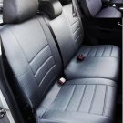 VW AMAROK FRONT REAR CUSTOM BLACK DIAMOND SYNTHETIC CAR SEAT COVERS
