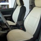 Toyota Sienna XL30 2010–present TWO FRONT SUGAR BLACK LEATHERTTE CAR SEAT COVERS