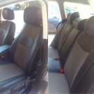 VW PASSAT 2010-2014 MIX LEATHERETTE & SYNTHETIC FRONT REAR CUSTOM BLACK TAN CAR SEAT COVERS