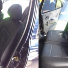 RENAULT MEGANE I 1995-2002 LEATHERETTE & L.CARBON FIBER FRONT REAR CUSTOM CAR SEAT COVERS
