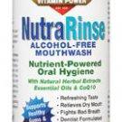 NUTRA RINSE Alcohol-Free Mouthwash 16oz