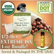 NaturOli Soap Nuts / Soap Berries  USDA Organic