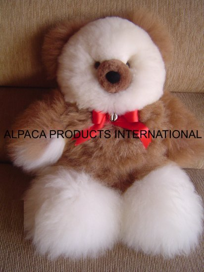 TEDDY BEARS IN ALPACA FUR 10""