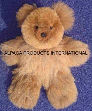 "TEDDY BEARS IN ALPACA FUR 20"""