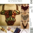 McCall's 5943 Fashion Accessories Pattern for Clutch, Cuffs, & Necklaces FF One Size OOP