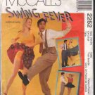OOP McCall's 2252  Misses' & Men's  Swing Dance Costumes  Sz  XL FF