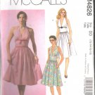 OOP McCall's 4826 Misses'/Miss Petite Halter Dresses SZ 12-18 FF