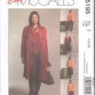 OOP McCall's 5195 Misses' Unlined Jacket (2 Lengths), Top, Skirt, Gaucho & Pants SZ L-XL FF