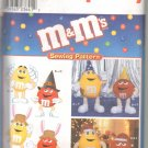 OOP Simplicity 8994/0670 M&M's Characters with Hats & Wings One Size