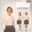 OOP McCall's 7259 Misses' Blouses w/ Detachable Accessories , Sz 18, EUC