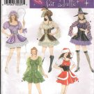 FF Simplicity 4046 Misses' Mini Dress Costumes Sz 14-20