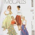 OOP MCCALLS 5056 MISSES' SKIRT IN 2 LENGTHS SIZES L-XL  UNCUT/FF